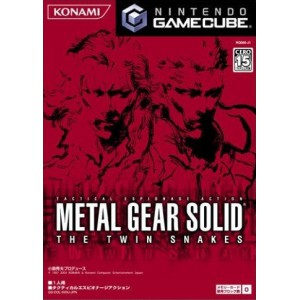 Metal Gear Solid - The Twin Snakes [NGC - used good condition]