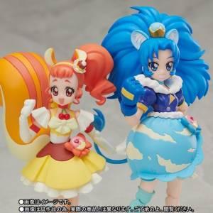 Kirakira Precure a la Mode / Purikyua - Cure Custard & Cure Gelato Limited Set [SH Figuarts]