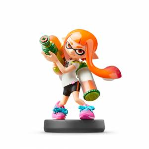 FREE SHIPPING - Amiibo Inkling / Girl - SUPER SMASH BROS. SERIES [Switch]