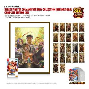 Street Fighter 30th Anniversary Collection International COMPLETE EDITION - e-Capcom Limited Edition [Switch]