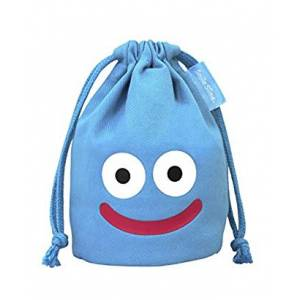 Slime Mini Drawstring Bag: Blue - Dragon Quest [GOODS]