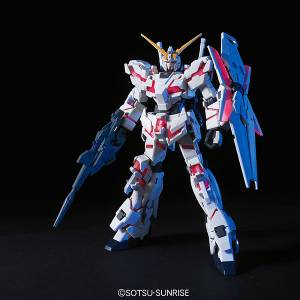 Mobile Suit Gundam Unicorn - RX-0 Unicorn Gundam Destroy Mode Plastic Model [1/144 HGUC / Bandai]