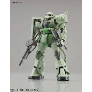 Mobile Suit Gundam - MS-06F Mass Produced Zaku Plastic Model [1/144 RG / Bandai]