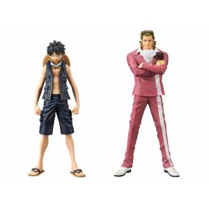 ONE PIECE - THE GRANDLINE MEN - ONE PIECE FILM GOLD VOL.1 MONKEY D. LUFFY & GUILD TESORO