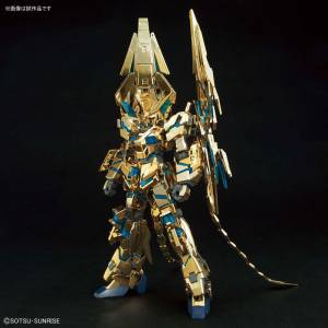 Unicorn Gundam 03 Phenex Destroy Mode (Narrative Ver.) Gold Coating Plastic Model [1/144 HGUC / Bandai]