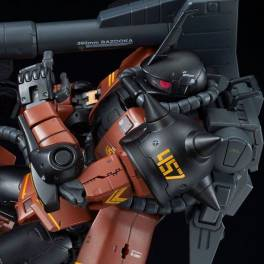 Mobile Suit Gundam -  MS-06R-2 Gabby Hazard's Zaku II Plastic Model Limited Edition [1/144 RG / Bandai]