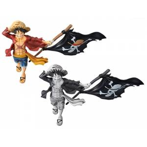 ONE PIECE - MAGAZINE FIGURE LUFFY - (Set of 2)