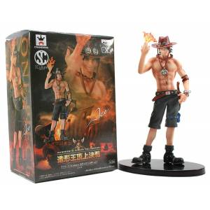 ONE PIECE - SCULTURES ZOUKEIOU CHOUJO KESSEN VOL.4 PORTGAS D. ACE [Banpresto]