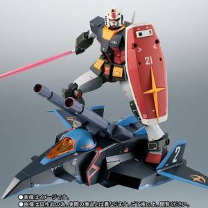 RX-78-2 Gundam & G-Fighter ver. A.N.I.M.E. Real Type Color TAMASHII NATION 2018 Limited [Robot Spirits SIDE MS]