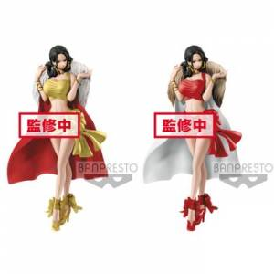 ONE PIECE - GLITTER & GLAMOURS BOA HANCOCK CHRISTMAS STYLE (Set of 2) [Banpresto]