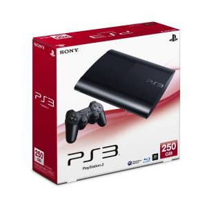 PlayStation 3 Super Slim 250GB Charcoal Black [used]