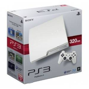 PlayStation 3 Slim 320GB Classic White [occasion]