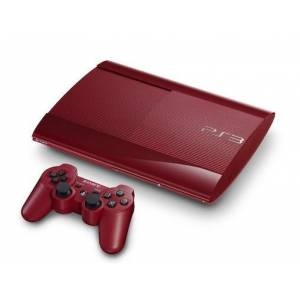 PlayStation 3 Super Slim 250GB Garnet Red [used]