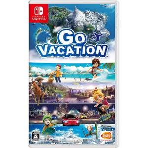 FREE SHIPPING - GO VACATION - Standard Edition (Multi Language) [Switch]