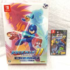 Mega Man 11 / Rockman 11 - Collector's Package amiibo Bundled Edition (Multi Language) [Switch]