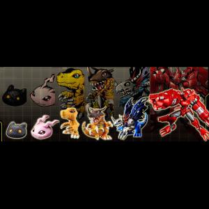 Digimon - Digital Monster Capsule Mascot Collection Premium ver. 1,0 [Bandai]