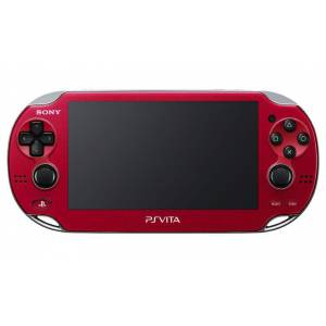 PSVita - Cosmic Red PlayStation Vita - Wi-fi (PCH-1000 ZA03) [occasion]