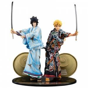 Naruto Uzumaki & Sasuke Uchiha Kabuki EDITION SET Limited [G.E.M.]