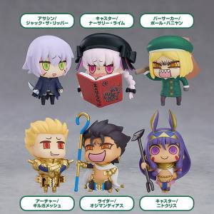 Learning with Manga! Fate/Grand Order Collectible Figures Episode 3 6 Pack BOX [Good Smile Company]