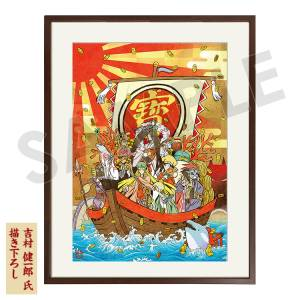Okami 12th Anniversary Special Collection Framed Graphic Art (A3) e-capcom Limited Edition [Goods]