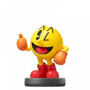 FREE SHIPPING - Amiibo Pac-Man - Super Smash Bros. series Ver. - Reissue [Wii U/ Switch]