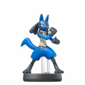 FREE SHIPPING - Amiibo Lucario - Super Smash Bros. series Ver. - Reissue [Wii U/ Switch]