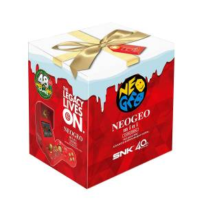 Neo Geo Mini Christmas Limited Edition [SNK - Brand new]