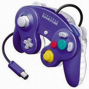 Manette Game Cube - Violet & Clear [NGC - occasion / loose]