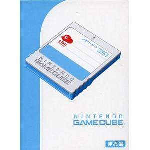 Club Nintendo Original Design - Memory Card 251 [NGC - used good condition]