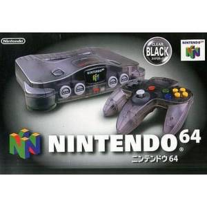 Nintendo 64 Clear Black [occasion BE]