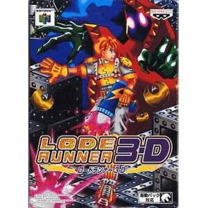 Lode Runner 3D [N64 - occasion BE]