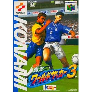 Jikkyou World Soccer 3 / International Superstar Soccer 64 [N64 - used good condition]