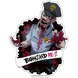 CAPCOM x B-SIDE LABEL Sticker - BioHazard / Resident Evil RE:2 Zombie [Goods]