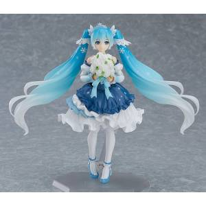 Character Vocal Series 01: Hatsune Miku - Snow Miku: Snow Princess Ver. Limited Edition [Figma EX-054]