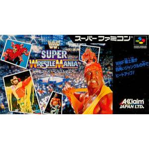 WWF Super Wrestlemania [SFC - Used Good Condition]