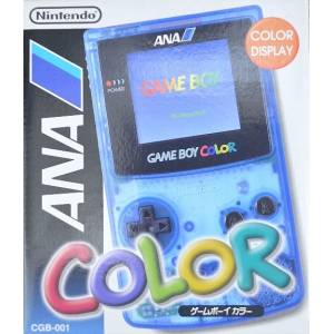 Game Boy Color Clear Blue ANA Version [Used Good Condition]