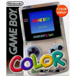 Game Boy Color Clear [Used Good Condition]