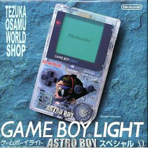 Game Boy Light Astro Boy Special Clear Limited Edition [Used Good Condition]