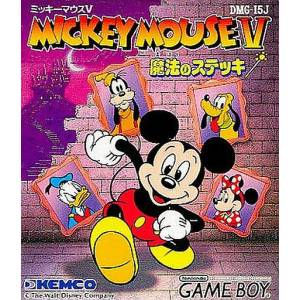 Mickey Mouse V - Mahou no Stick / Magic Wands! [GB - Used Good Condition]