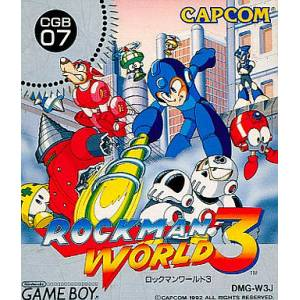 Rockman World 3 / Mega Man III [GB - Used Good Condition]