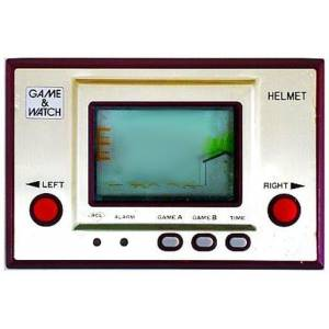 Helmet / Headache - Gold CN-07 - used / no box [Game & Watch]