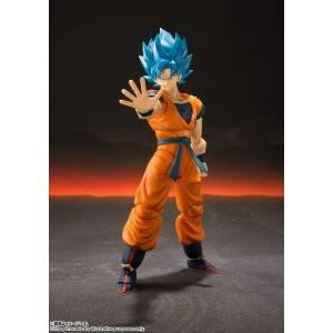 FREE SHIPPING - FREE SHIPPING - Dragon Ball Super Broly - Son Goku SSGSS / SUPER SAIYAN BLUE [SH Figuarts]