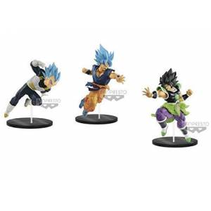 DRAGON BALL SUPER BROLY - ULTIMATE SOLDIERS THE MOVIE - Set of 3 [Banpresto]