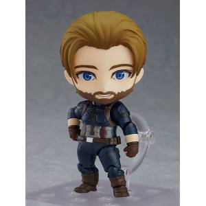 FREE SHIPPING - Avengers - Captain America Infinity Edition DX Ver. [Nendoroid 923-DX]