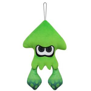 Splatoon 2 - All Star Collection Plush SP15 Squid / Neon Green (S) [Goods]