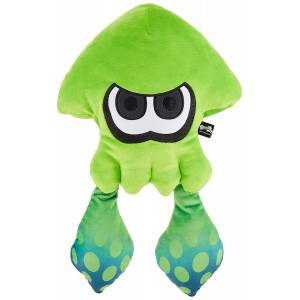 Splatoon 2 - All Star Collection Plush SP21 Large Squid / Neon Green [Goods]
