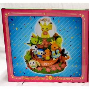 Water Globe Pokemon Center 20th Anniversary Limited Edition [GOODS]