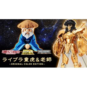 Saint Seiya Myth Cloth EX - Libra Dohko & Rōshi - Original Color Edition Limited [Bandai] [Used]