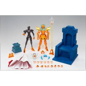 Saint Seiya Myth Cloth EX - Kaiou Poseidon / Sea Emperor Poseidon - Imperial Sloan Royal Ornament Set [Used]