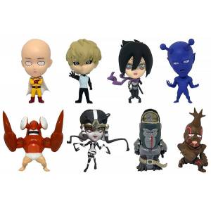 One-Punch Man 16d Collectible Figure Collection: ONE PUNCH MAN Vol.1 8 Pack BOX [16 directions]